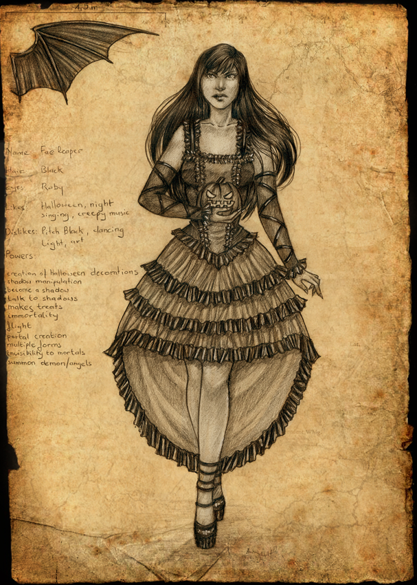 Commission: Fae Reaper