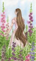 FloralFeb - Hollyhock