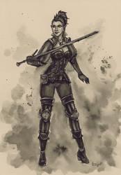Commission: Witcher Kel