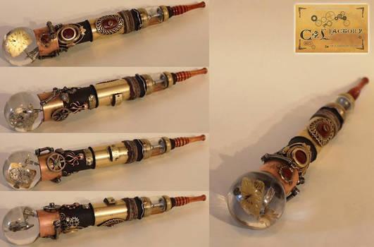 e-cigarette steampunk MOD vape number 21