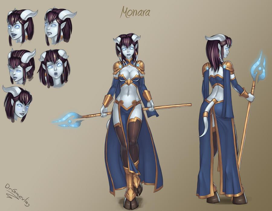 Monara's new threads by DrGraevling