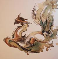 Dragon Swin O Ka Fee IV by RubisFirenos