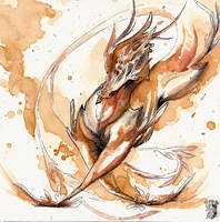 Draco-Dance O Ka Fee by RubisFirenos