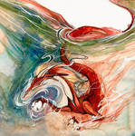 River Dragon O Ka Fee by RubisFirenos