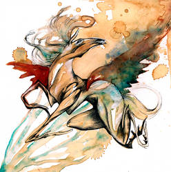 With the Spirit Wings O Ka Fee by RubisFirenos