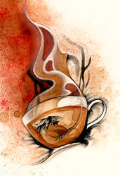 O Ka Fee Dragon Cup by RubisFirenos