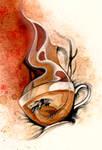 O Ka Fee Dragon Cup