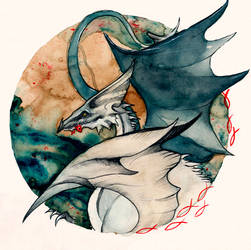 Seagull Dragon O Ka Fee by RubisFirenos