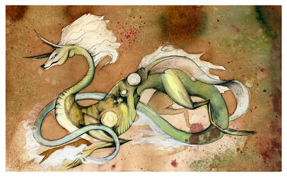 Pure Asian Dragon O Ka Fee by RubisFirenos