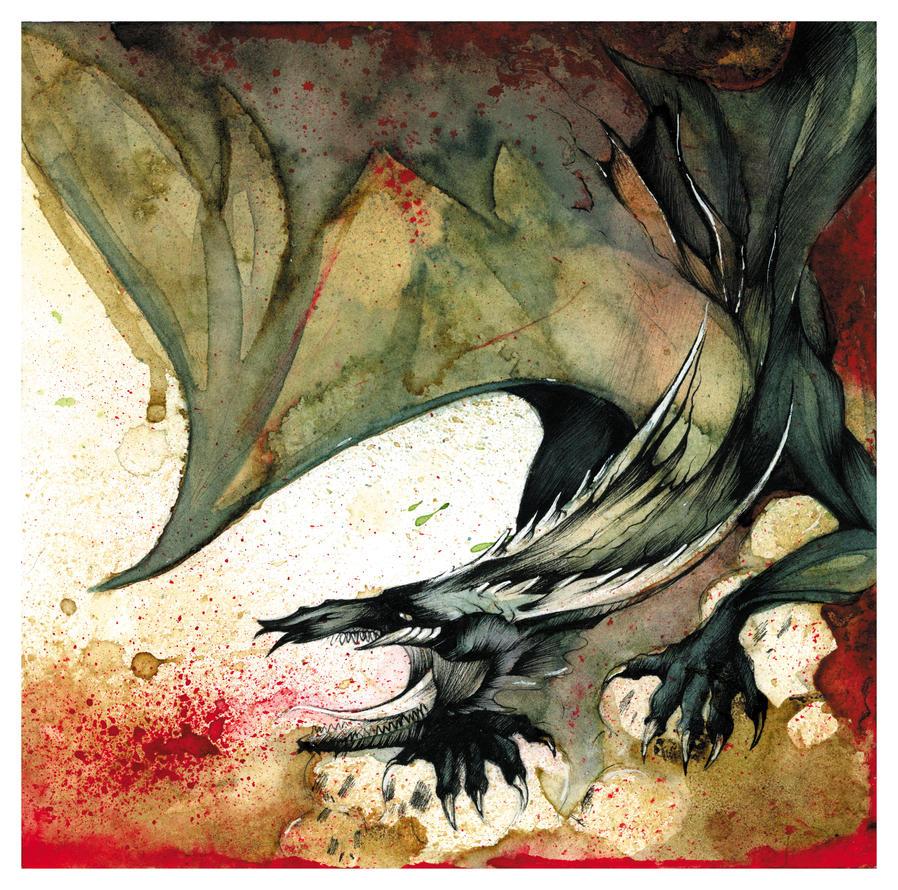 Black Dragon O Ka Fee by RubisFirenos
