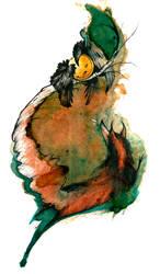 The Raven and the Fox O Ka Fee by RubisFirenos