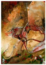 Undead Dragon O Ka Fee by RubisFirenos