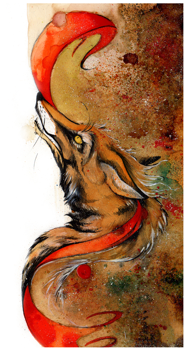 Fox's Ribbon O Ka Fee by RubisFirenos