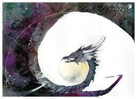 Cosmos Dragon by RubisFirenos