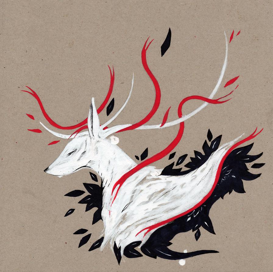 Oh Deer RIBBONS by RubisFirenos
