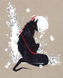 Black Wolf RIBBONS