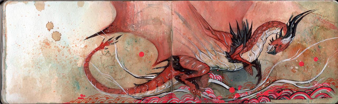 Japanese Painting - Atrucian