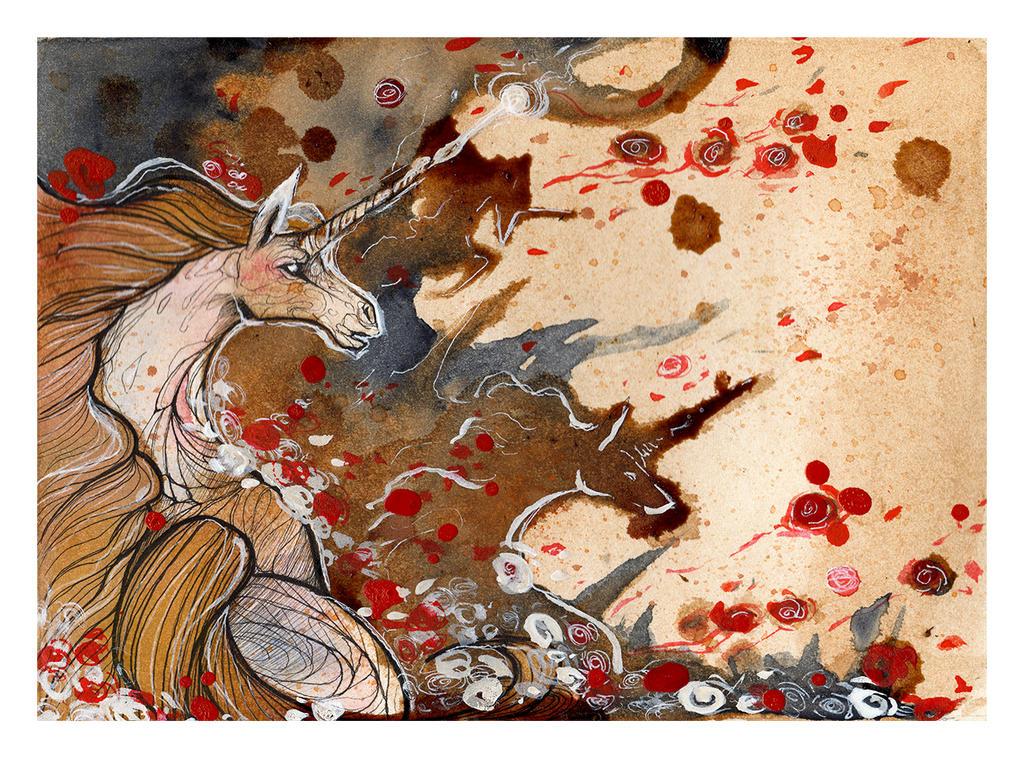 Unicorns Battle by RubisFirenos