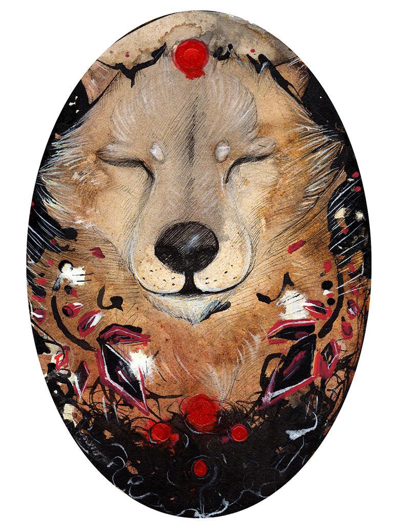 Happy Wolf  O Ka Fee by RubisFirenos