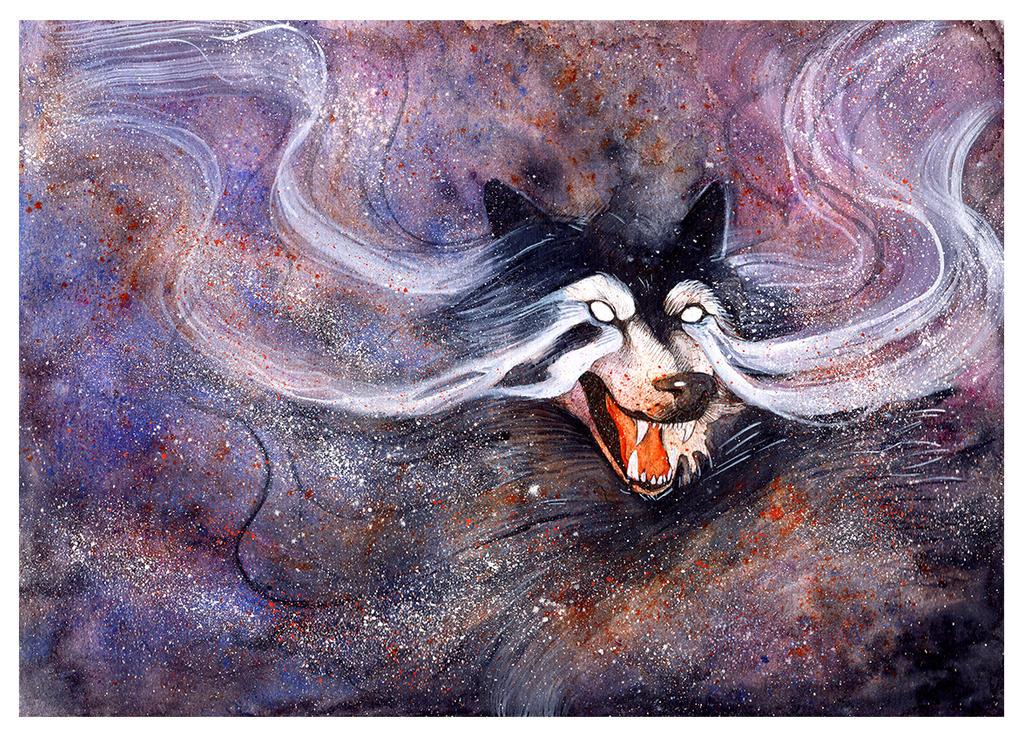 Borealis Wolf by RubisFirenos