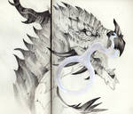 Atrucian Dragon Portrait