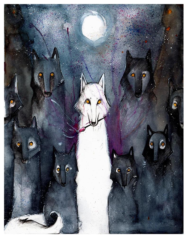 Alpha Wolf by RubisFirenos