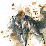The Wolf O Ka Fee by RubisFirenos