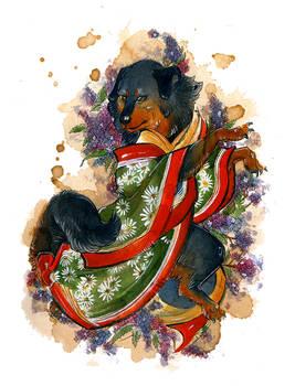 Yukata Tibetan Mastiff