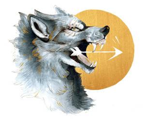 Golden Werewolf