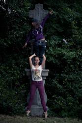 Ballet: Posed upon the pillar 1
