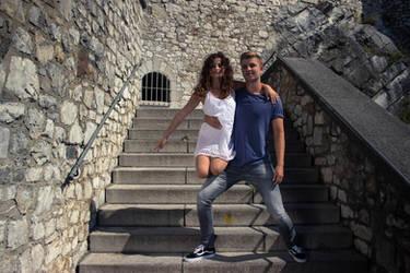 Dancing around a summer castle 3