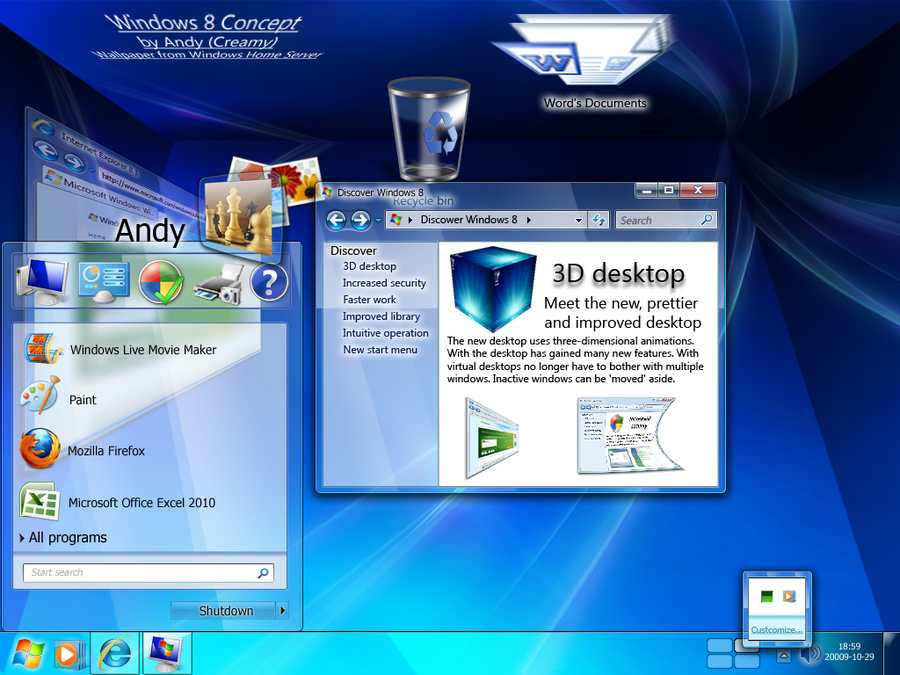 <<<<Một số concept cho Windows 8 tương lai!>>>> Windows_8_Interface_Concept_by_Creamy_Andy