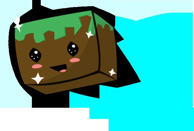 Happy Dirt Block by MineGirl007
