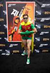 Robin at Comic-Con 2014