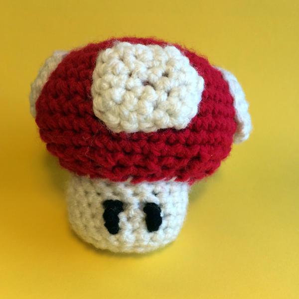 Super Mushroom Amigurumi by madizzlee on DeviantArt