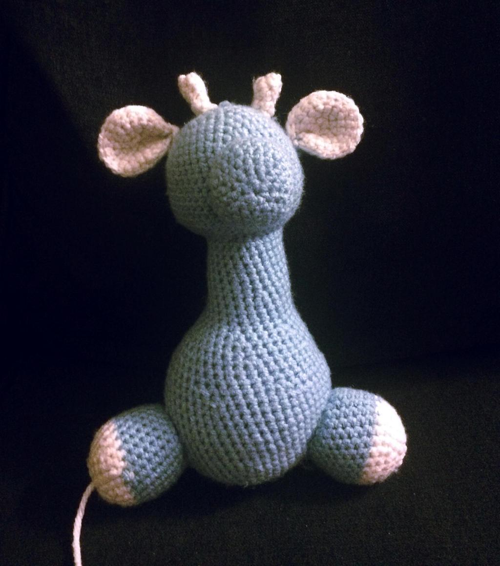 Crochet Baby Giraffe Amigurumi - Free Pattern | Giraffe crochet | 1159x1024