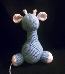 [WIP] Baby Giraffe Amigurumi by madizzlee