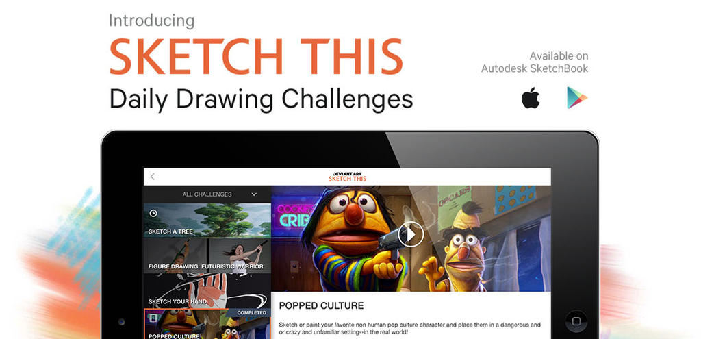 Introducing Sketch This: Daily Drawing Challenges by Heidi on DeviantArt