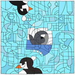 Penguins Dreaming of Bigger Fish