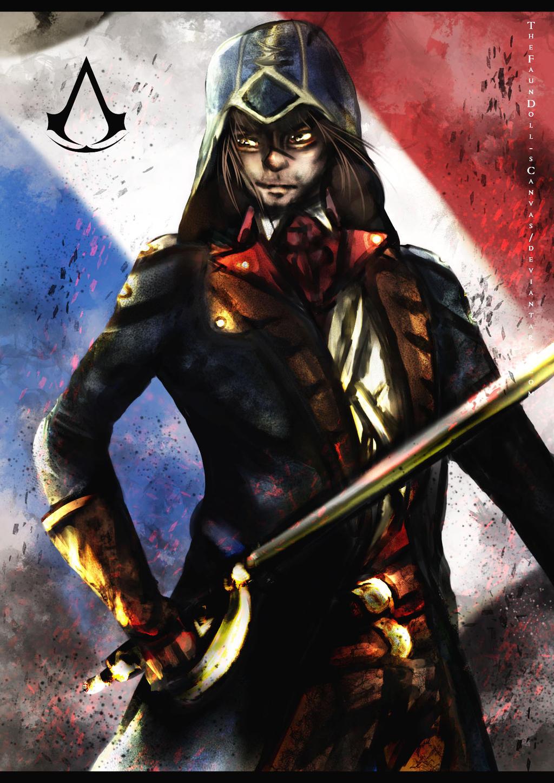Assassin's Creed Unity- by TheFaunDoll-sCanvas on DeviantArt