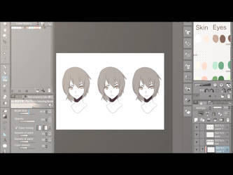 3 Styles of Coloring ~Clip Studio Paint~ [iPad] by TheFaunDoll-sCanvas
