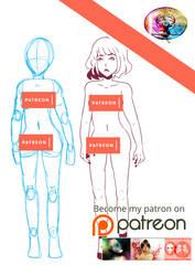 ~Patreon~ Full Body Tier Reward Tutorial by TheFaunDoll-sCanvas