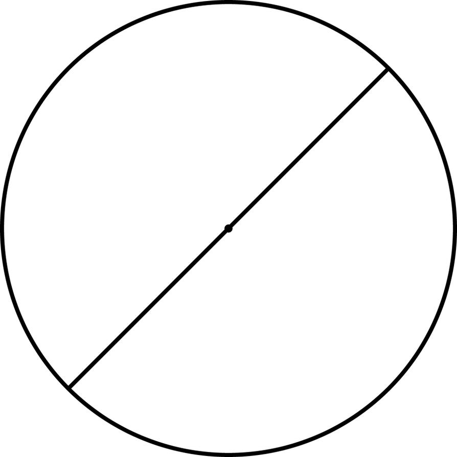 circle with diameter of 113 millimetres by treisaran on