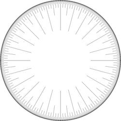 Dozenal Linear Circle, All 3 Levels, Graded