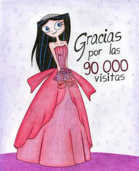Gracias por las 90 000 visitas!