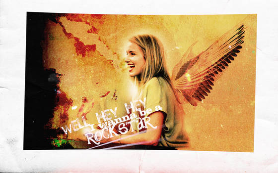 dianna with wings