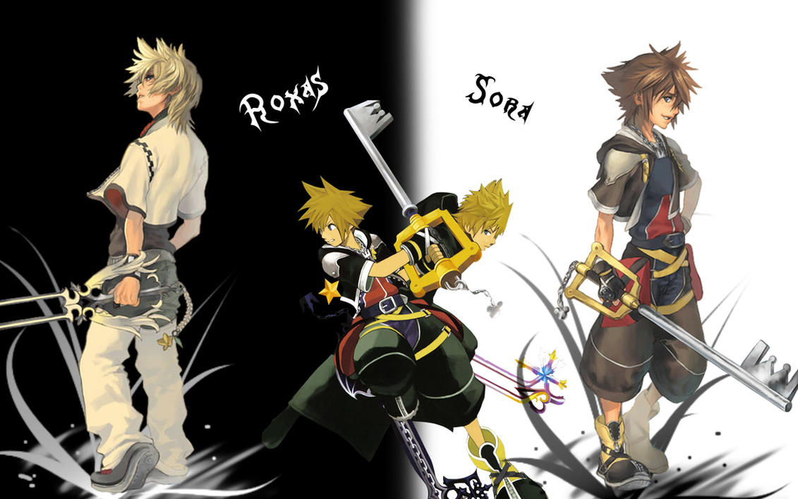 Roxas Sora Wallpaper By Yugoku Chan On DeviantArt