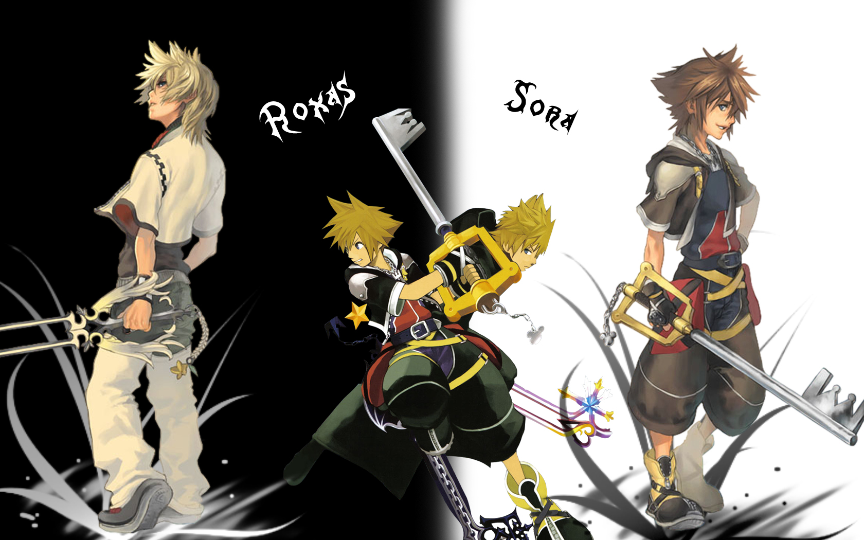 kingdom hearts sora and roxas meet