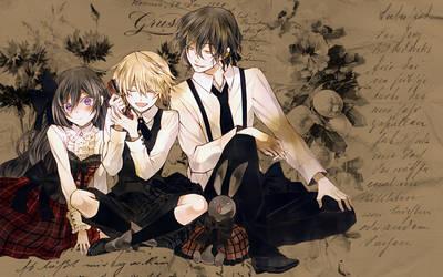 Pandora Hearts Wallpaper II by Yugoku-chan