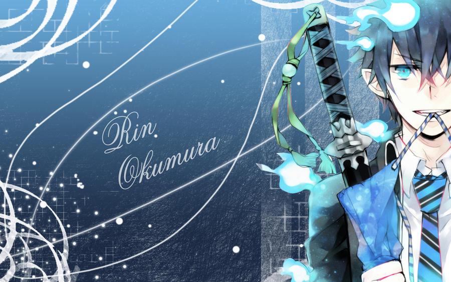 Rin Okumura Wallpaper IV by Yugoku-chan